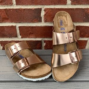 Birkenstock Arizona Soft Footbed Sandal, 37 N